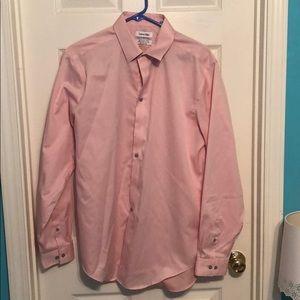 Men's Calvin Klein Dress Shirt Long Sleeve